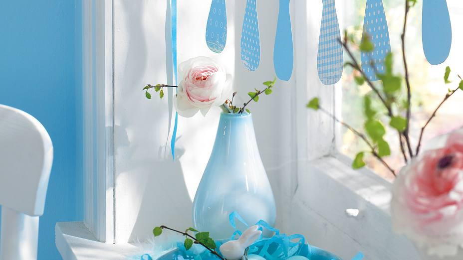Tip: Easter Garland with bunnys 2013 – visual
