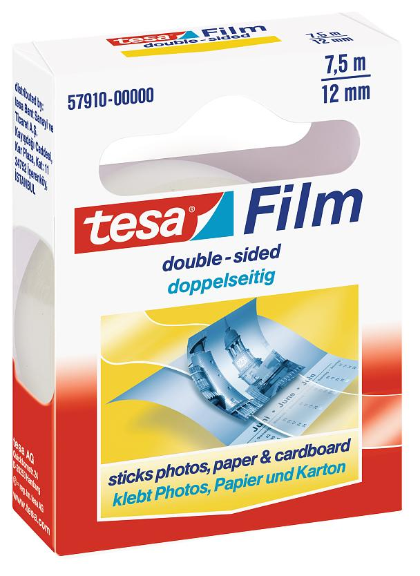 tesafilm double-sided 7,5m:12mm
