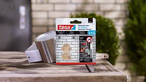 How to use a tesa® Adhesive Screw Triangular for Brick & Stone 2.5kg.