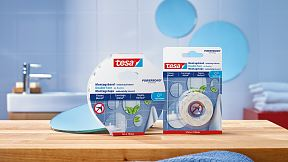 How to use tesa® Mounting Tape for Tiles & Metal.