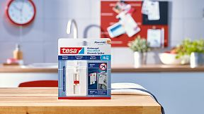 How to use the tesa® Adjustable Adhesive Nail for Tiles & Metal 4kg.