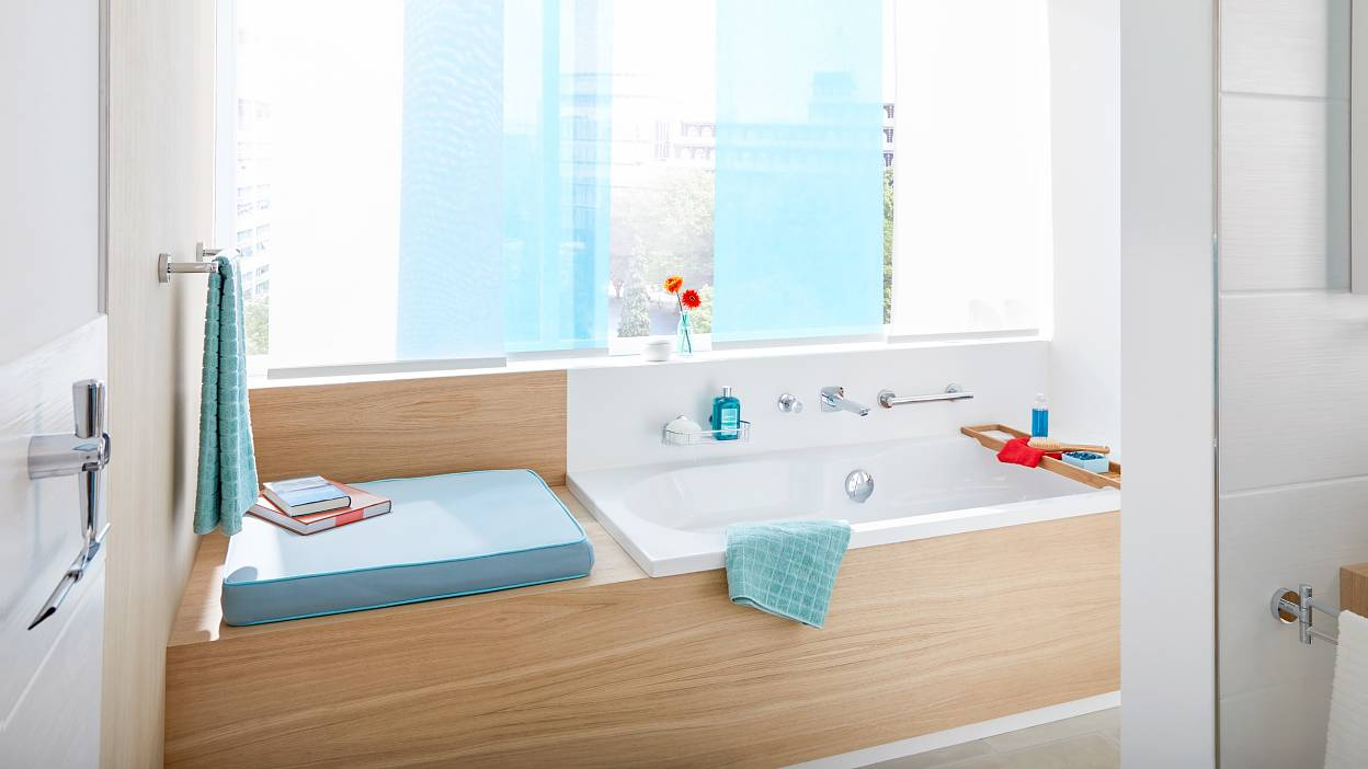 Badezimmer Designlinie Tesa® DRAAD