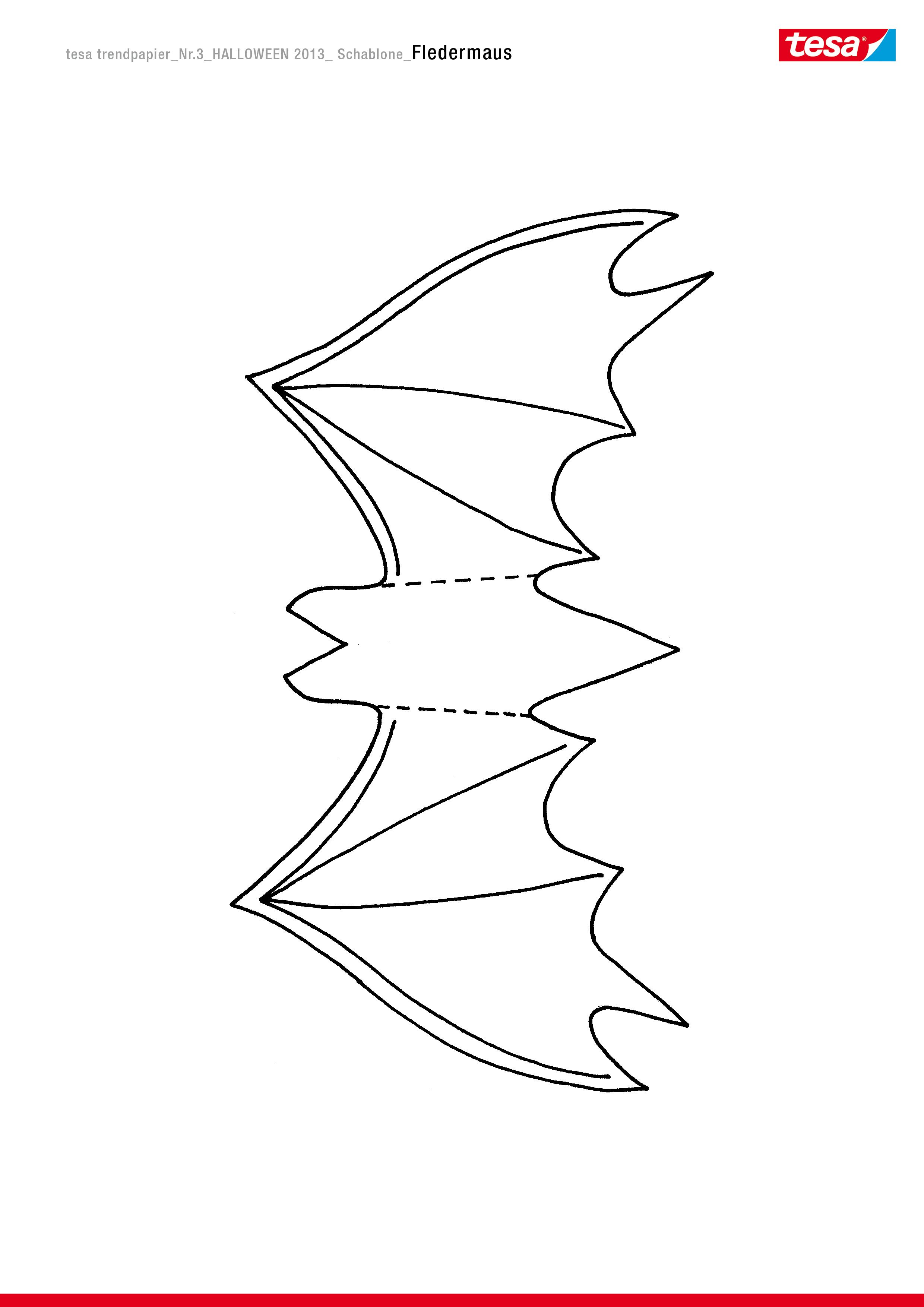 Glitzernde Fledermäuse - tesa