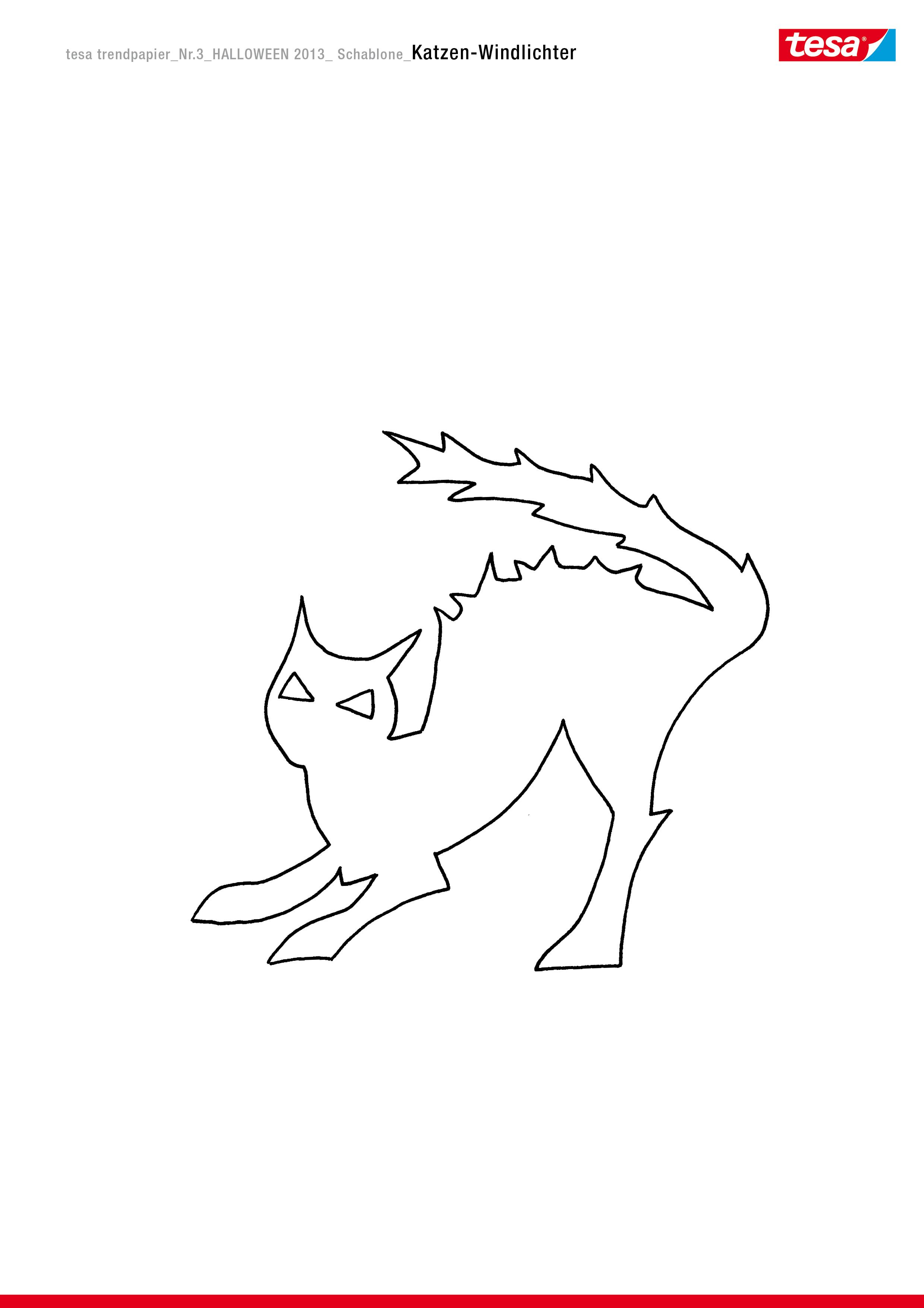 windlichter: katzen-kerzenschein - tesa