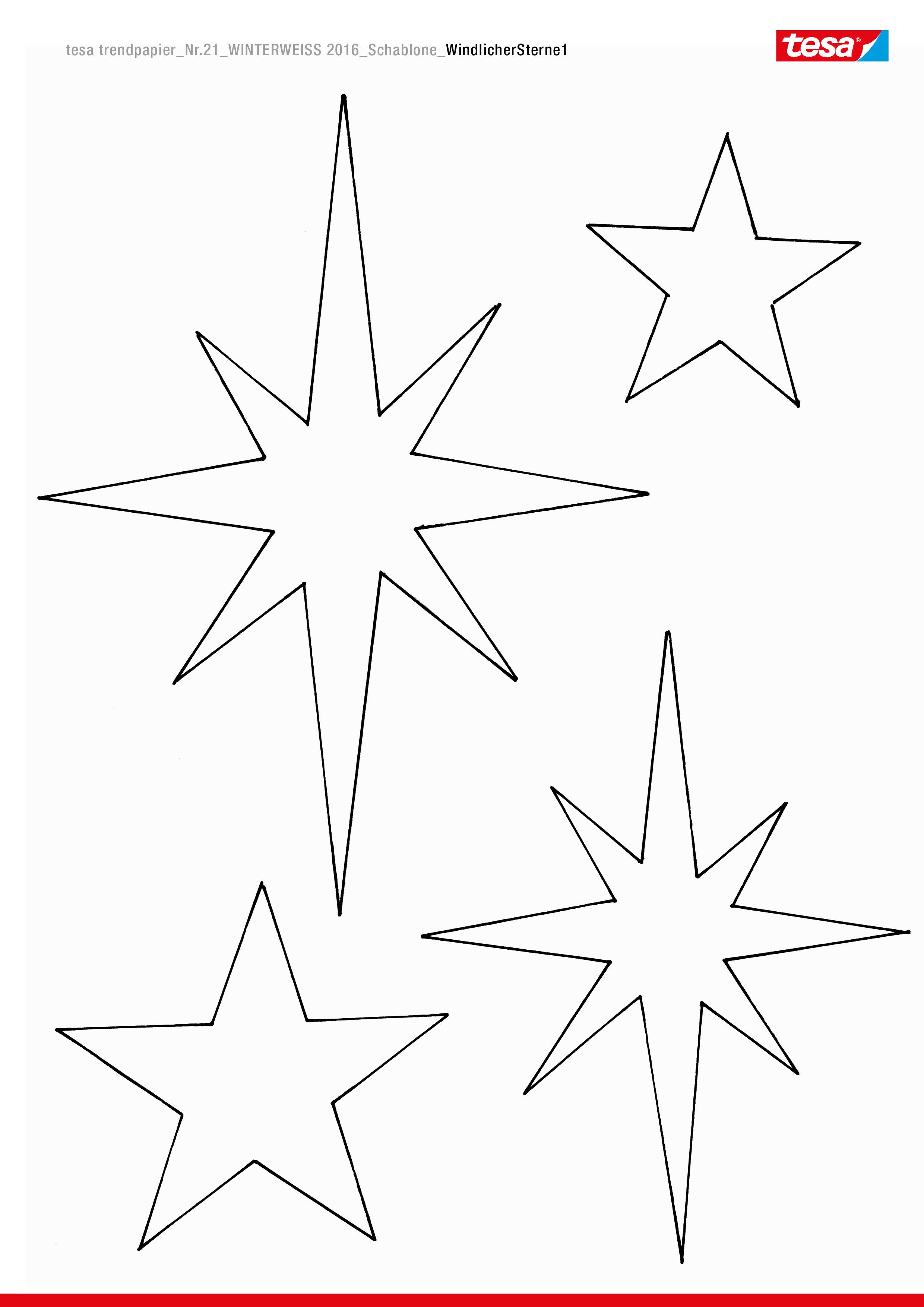 Windlichter mit Sternen - tesa