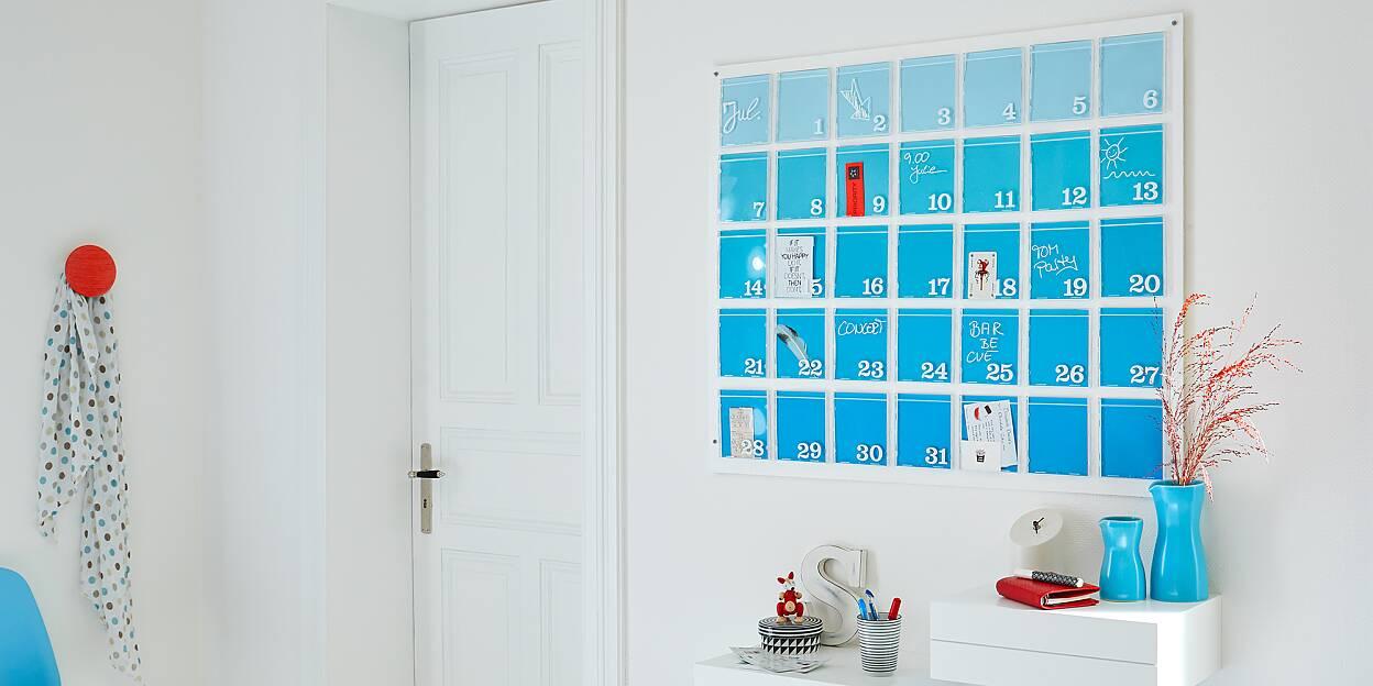 Wandkalender selbst gestalten - tesa