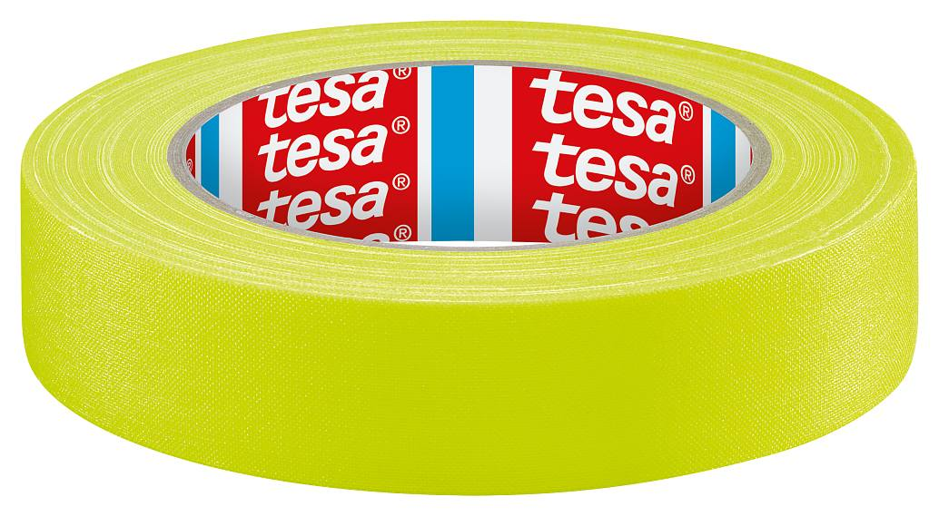 tesa Acrylic coated colored duct tape,neon,yellow