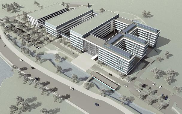 Technical illustration of the new tesa Campus