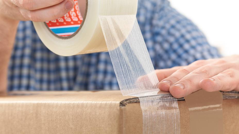 Packaging tape – reliable sealing and simple handling