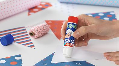 Glue sticks – everyday helpers in the home or office