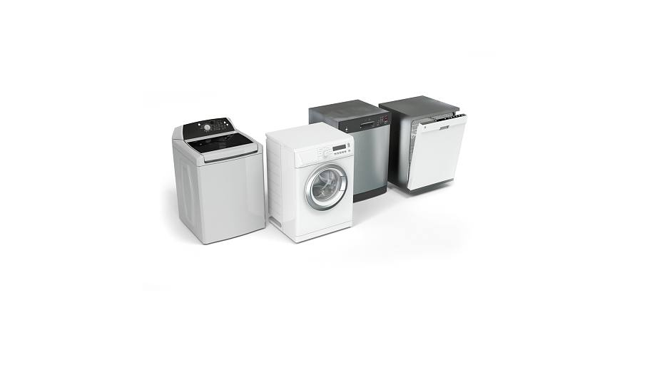 Tape can be used for a wide range of applications for laundry and cleaning appliances.