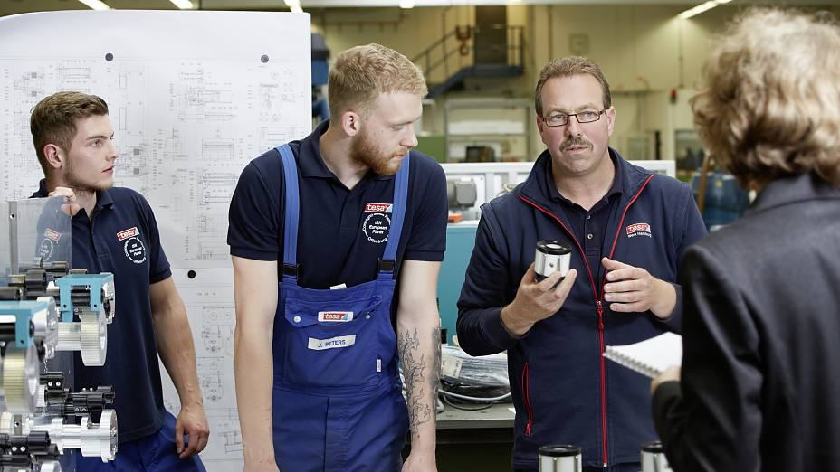 Vocational Training at the tesa Plant Hamburg