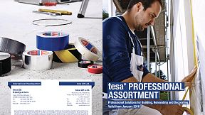 tesa's range of adhesive tapes for the professional craftsman
