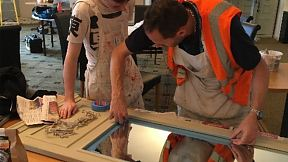 Students get hands on practical experience of all of the tesa masking range