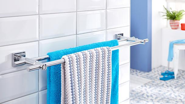 The best way to store your towels and let them dry. Your bathroom isn't complete without a matching towel bar.