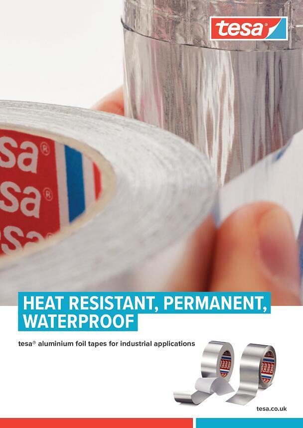 Aluminium Foil Tape Self Adhesive Heat Resistant to 180°C Insulation Duct Tape