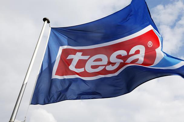 tesa flag in the sky
