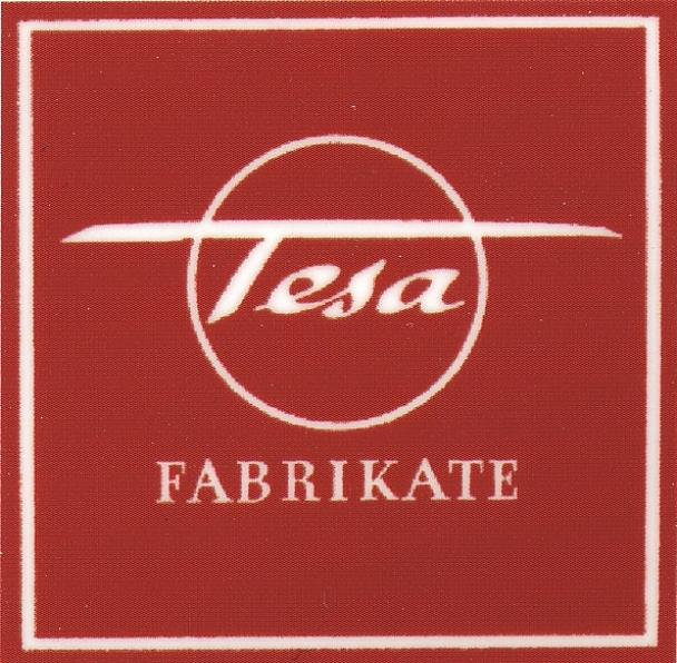 "The tesafilm® name is created as an abbreviation of ""tesa-Klebefilm"" (tesa adhesive tape). tesa evolves into an umbrella brand for all the group's self-adhesive products."