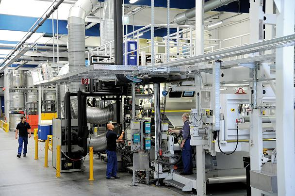 Solvent-free production technology in Offenburg