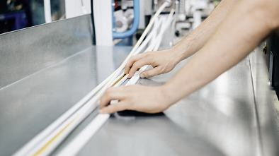 Adhesive solutions for trims and profiles