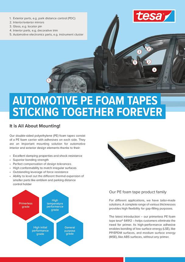 Benefit from our new primerless bonding tape - tesa