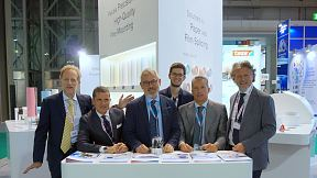 Print4All tradeshow team Italy, 2018