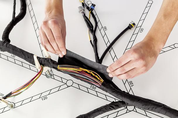 Wire Harnessing tapes for Bundling and Protection - tesa on