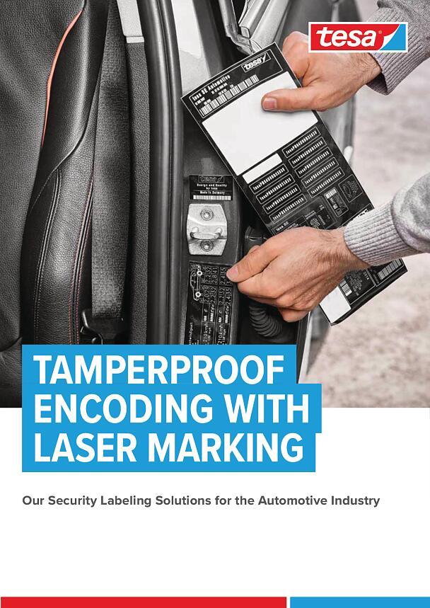Tamperproof Encoding with Laser Marking - tesa