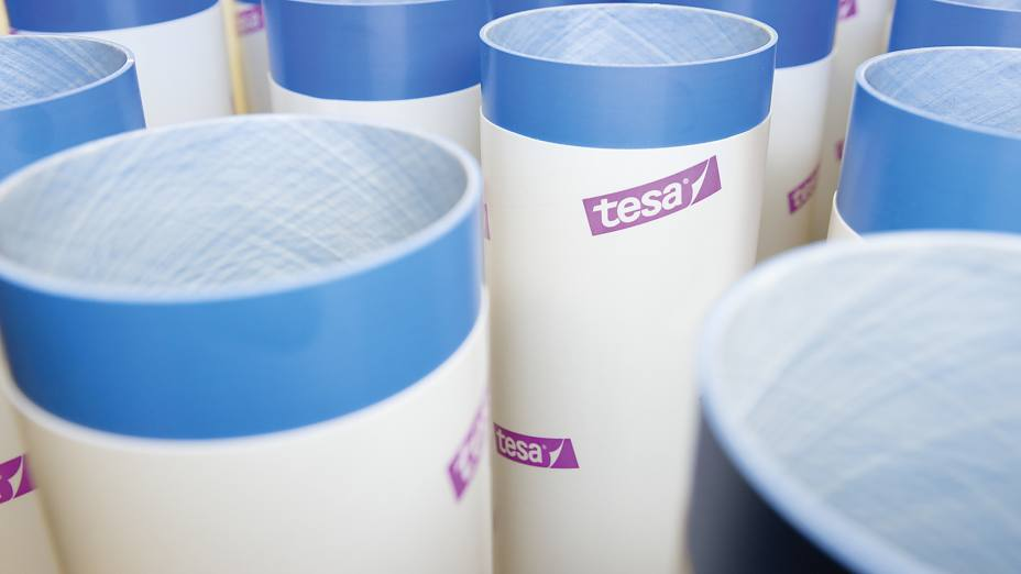 tesa Softprint® plate mounting with foam tapes