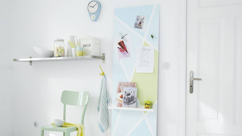 DIY magnet Board - with magnetic paint