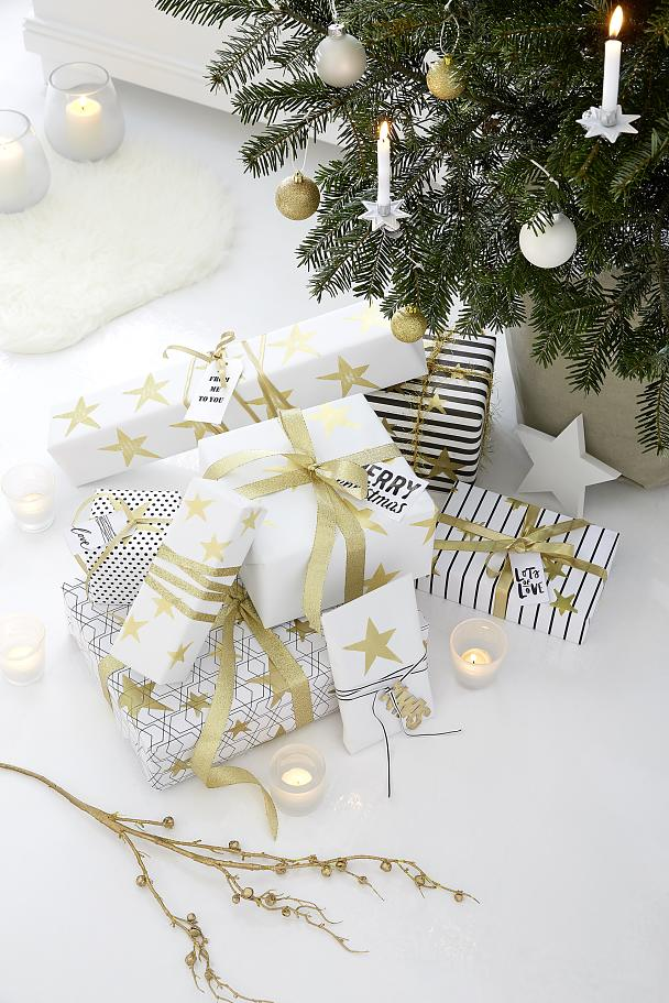 Enjoy your golden gift wrapping!