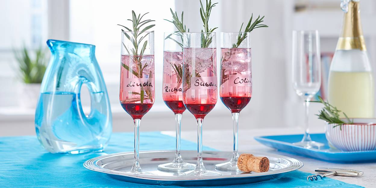 Decorate Your Party Glasses