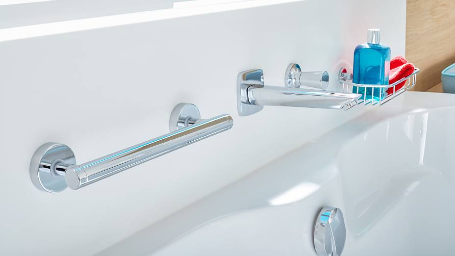 Bathrooms will forever be slippery. Stay safe with our bathtub handles for secure hold.