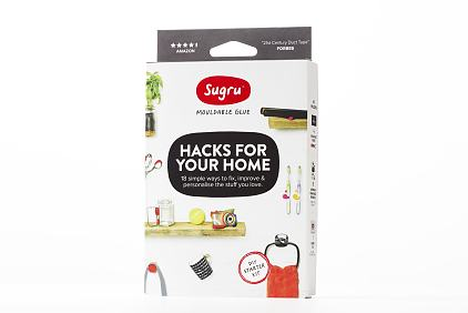 Packshot of Hacks for Your Home 18 simple ways to fix, improve & personalise the stuff you love.