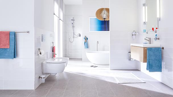 Aesthetic design and functional forms for your bathroom.