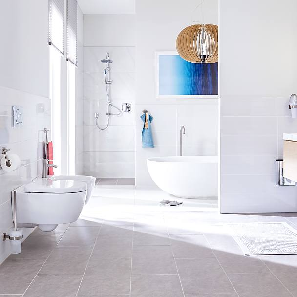 Adhesive Solutions for Bathroom Accessories - tesa
