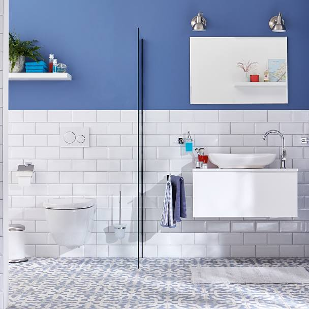 Beauty meets confidence to cover your bathroom needs.