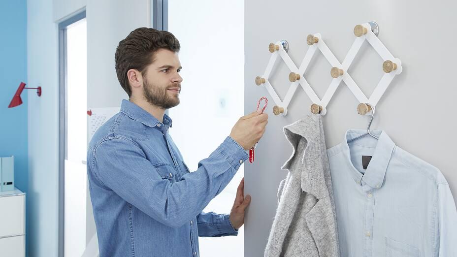 Wall Mounted Coat Rack Mounting, How To Put Coat Hanger On Wall