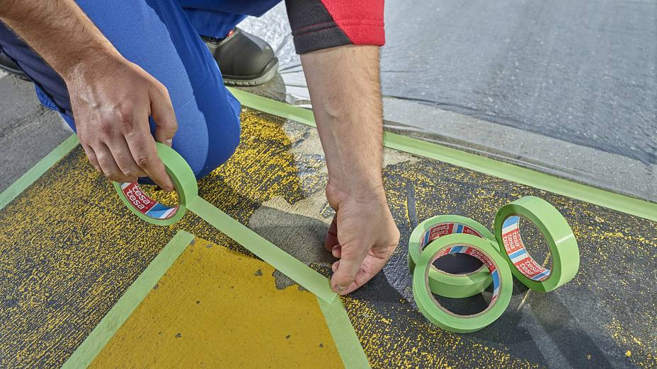 Outdoor Masking with tesa® 4621
