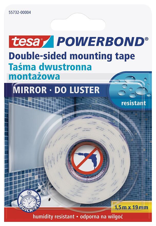 Tesa Powerbond Mirror, Best Mirror Hanging Tape