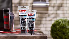 How to use tesa® Mounting Glue For Brick & Stone 23kg/cm2.
