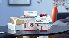 How to use tesa® Mounting Tape for Wallpaper & Plaster 10kg/m.