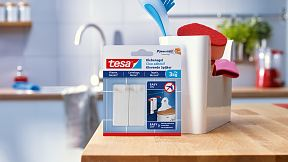 How to use the tesa® Adhesive Nail for Tiles & Metal 3kg.
