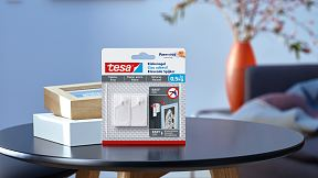 How to use the tesa® Adhesive Nail for Wallpaper & Plaster 0.5kg.