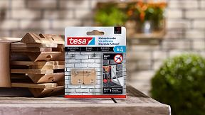 How to use the tesa® Adhesive Screw Rectangular for Brick & Stone 5kg.