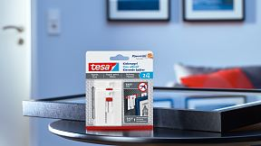 How to use the tesa® Adjustable Adhesive Nail for Wallpaper & Plaster 2kg.