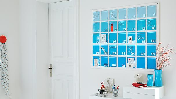Make a huge DIY calendar!