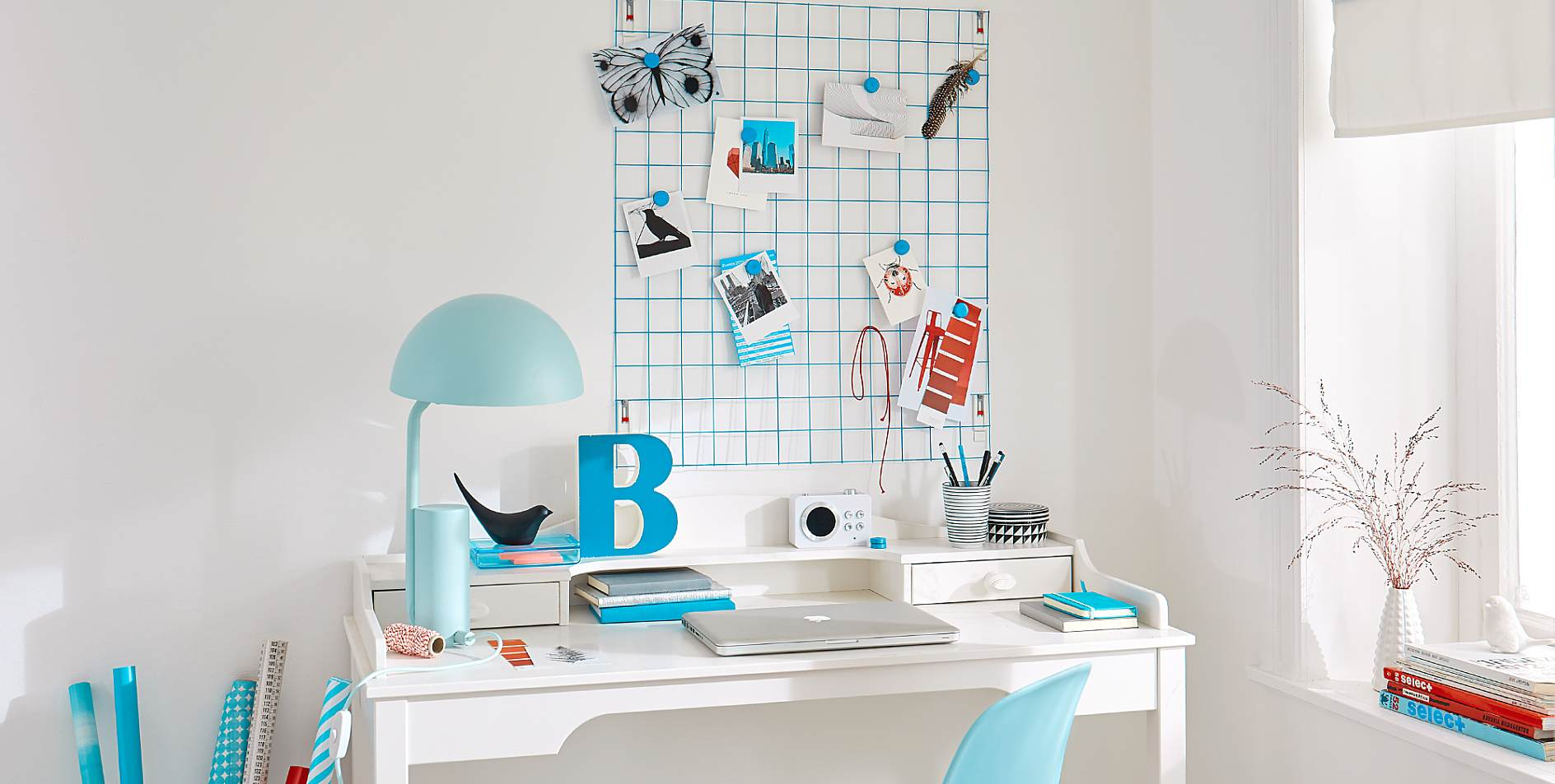 gitter pinnwand tesa. Black Bedroom Furniture Sets. Home Design Ideas