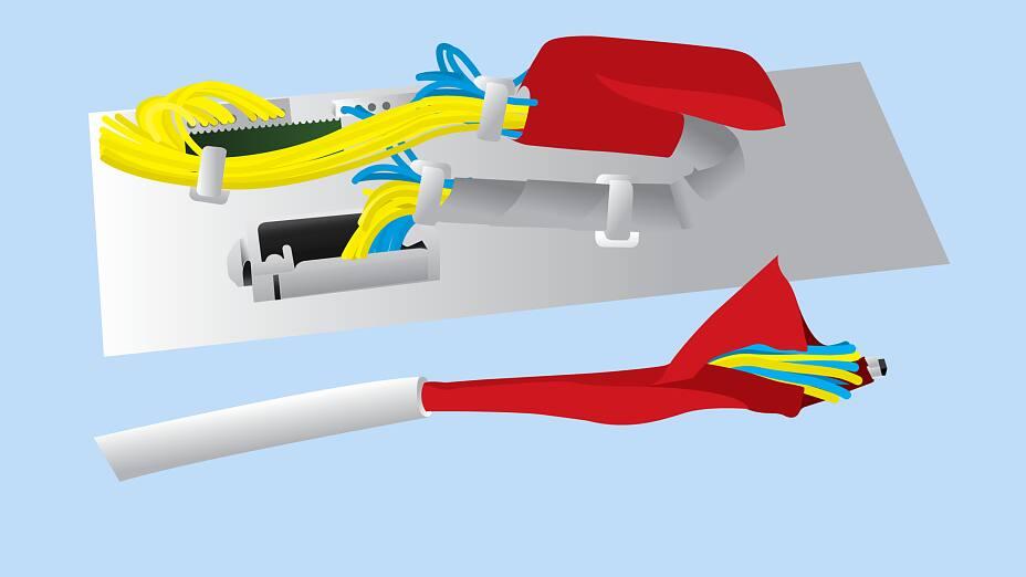 Beste Kabel Kabel Montage Prozess Fotos - Der Schaltplan ...