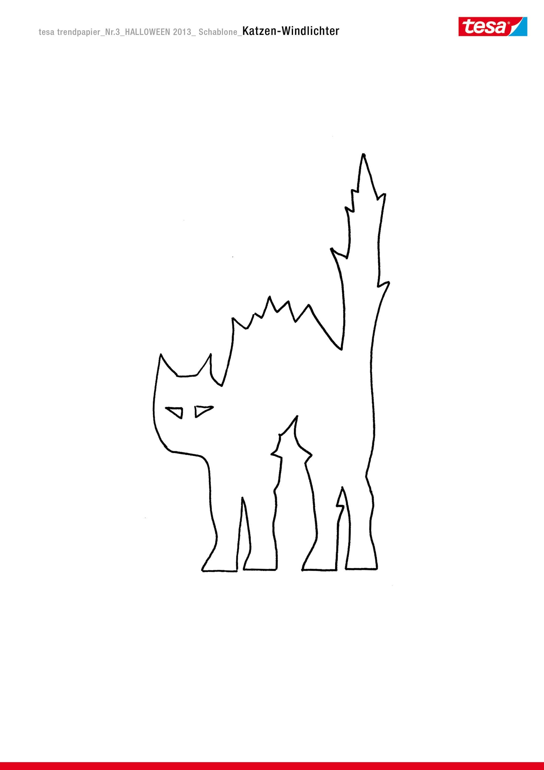Gemütlich Halloween Kürbis Und Katze Malvorlagen Bilder - Beispiel ...
